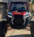 RZR Windshield Stock Cage
