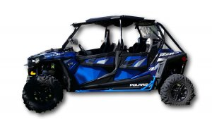 4-Door RZR1000/Turbo/900/900S Nerf Bars